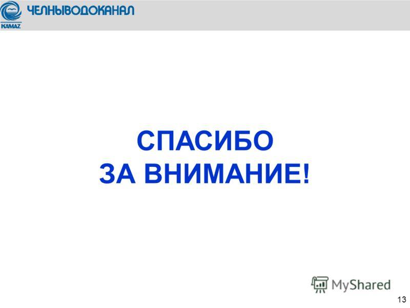 We trust in 13 СПАСИБО ЗА ВНИМАНИЕ!