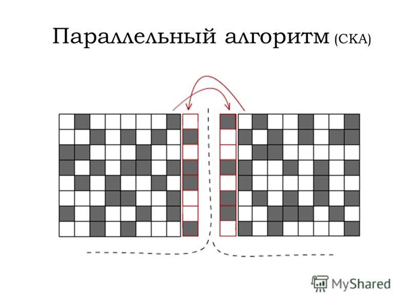 Параллельный алгоритм (СКА)