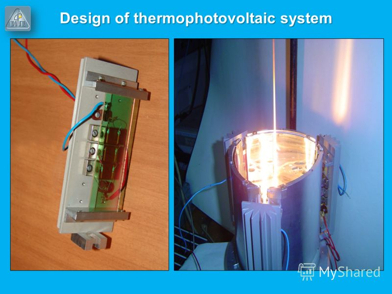Design of thermophotovoltaic system