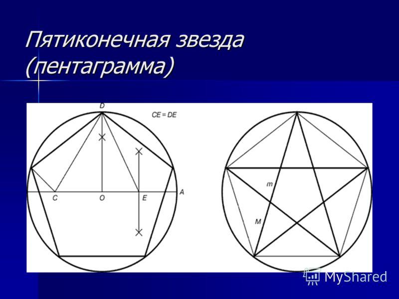 Пятиконечная звезда (пентаграмма)