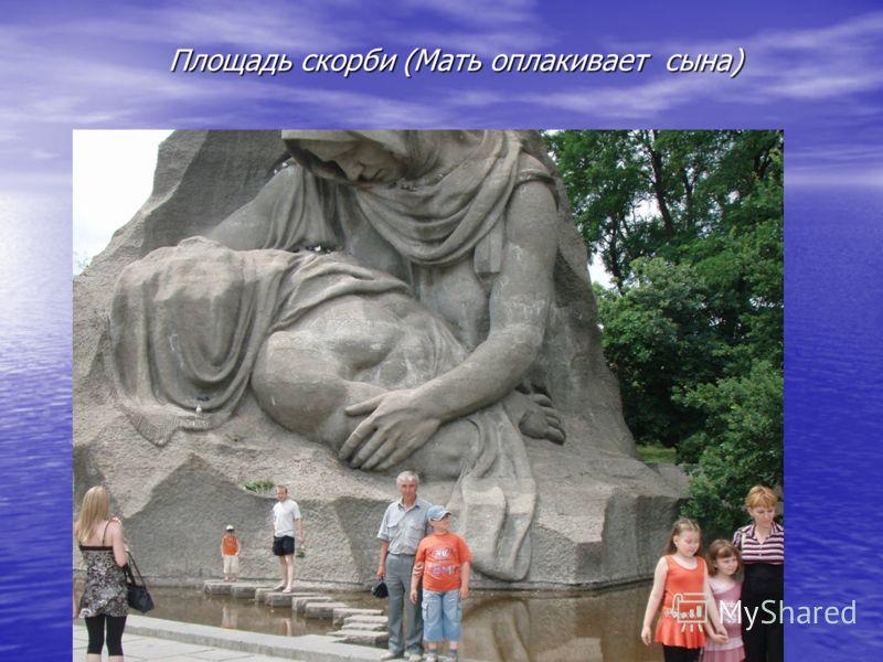 Площадь скорби (Мать оплакивает сына)