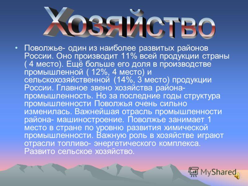 Коренные жители северного Поволжья- чуваши, марийцы, мордва. На территорию Поволжья приходили монголы и русские, немцы и калмыки. Сейчас Поволжье- это один из наиболее заселённых и освоенных районов России. В нём живёт около 17 млн человек. В последн