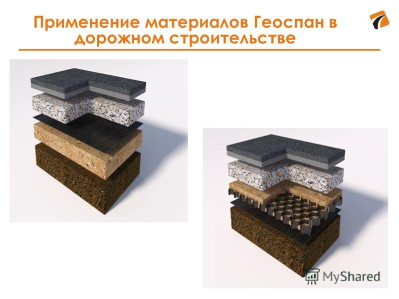 Применение материалов Геоспан в дорожном строительстве