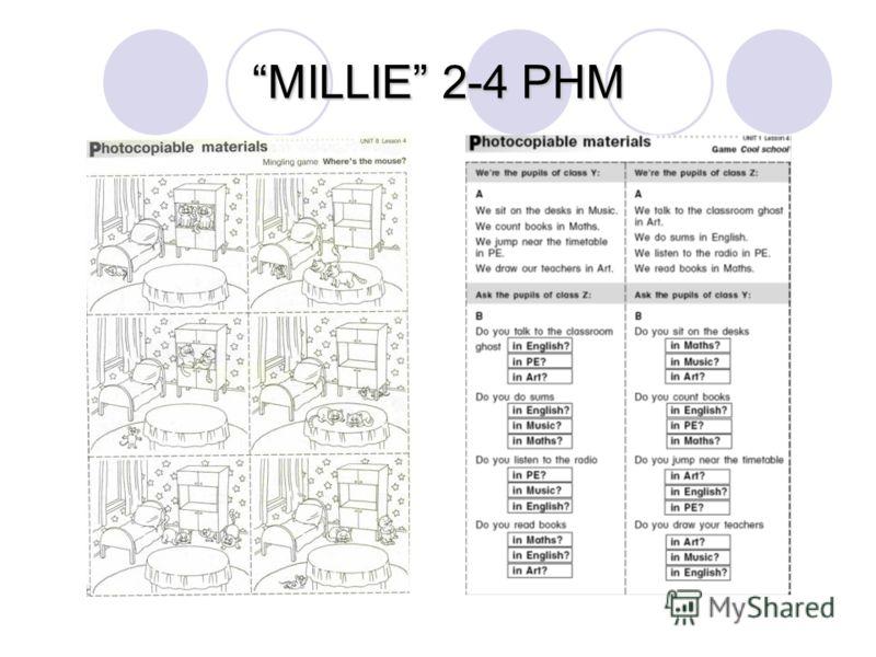 MILLIE 2-4 PHM