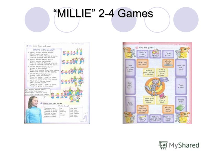 MILLIE 2-4 Games