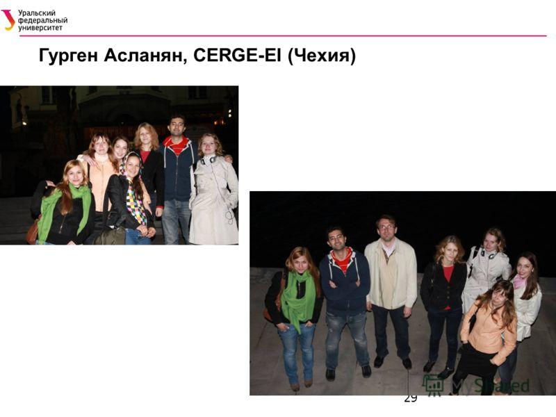 29 Гурген Асланян, CERGE-EI (Чехия)