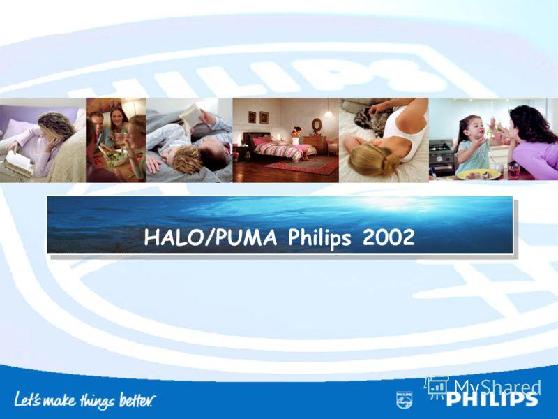 HALO/PUMA Philips 2002