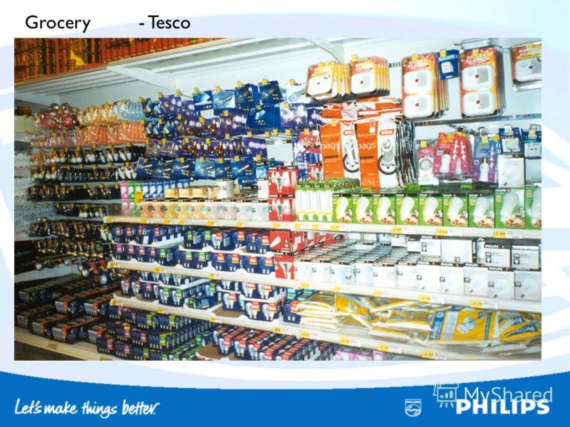 Grocery - Tesco