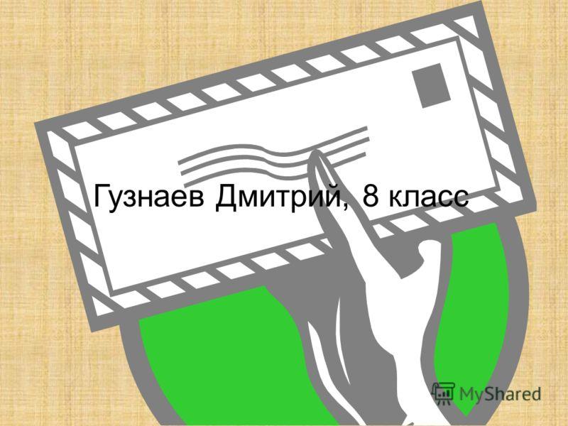 Гузнаев Дмитрий, 8 класс