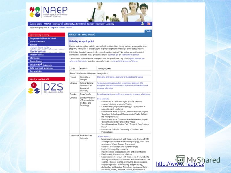 http://www.naep.cz