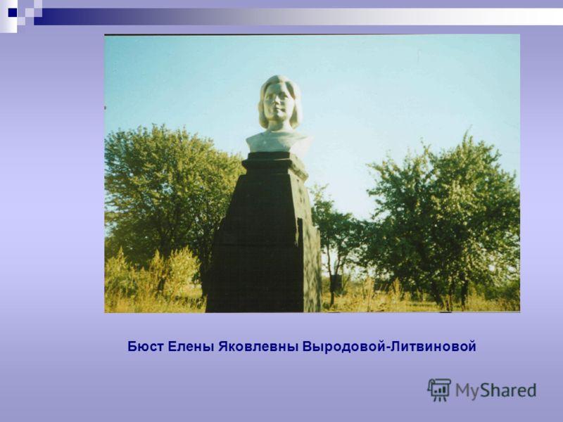 Бюст Елены Яковлевны Выродовой-Литвиновой