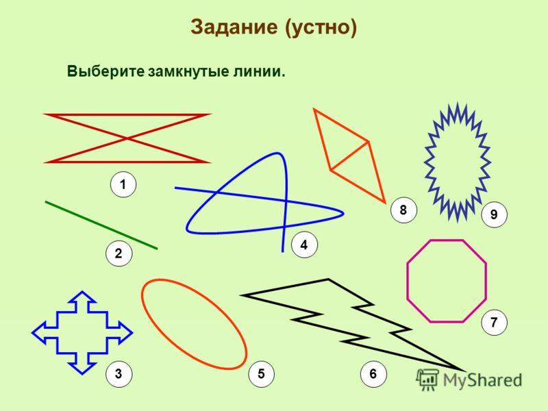 Рабочая таблица п/п Название линииРисунок линии Название линии (на английском языке) ИзображениеНазвание объекта (на русском языке) Название объекта (на английском языке) 1. замкнутые 2. незамкнутые 3. замкнутые само- пересекающиеся 4. замкнутые без