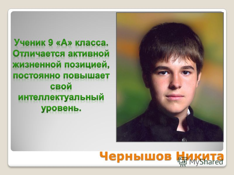 Чернышов Никита