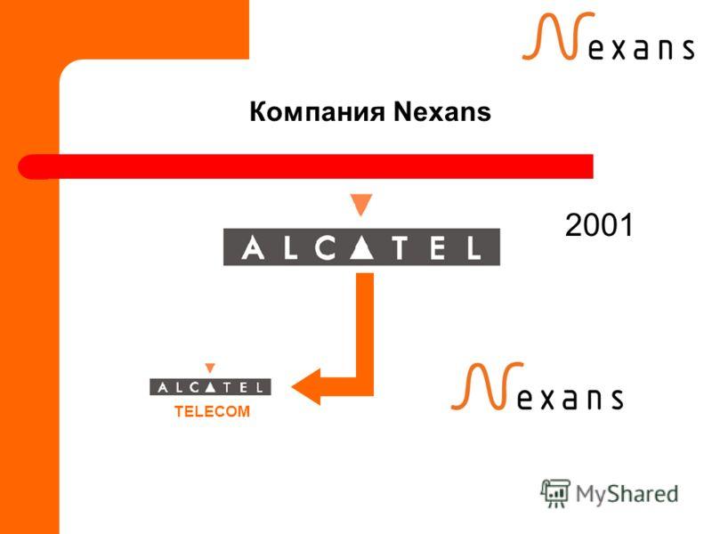 Компания Nexans 2001 TELECOM