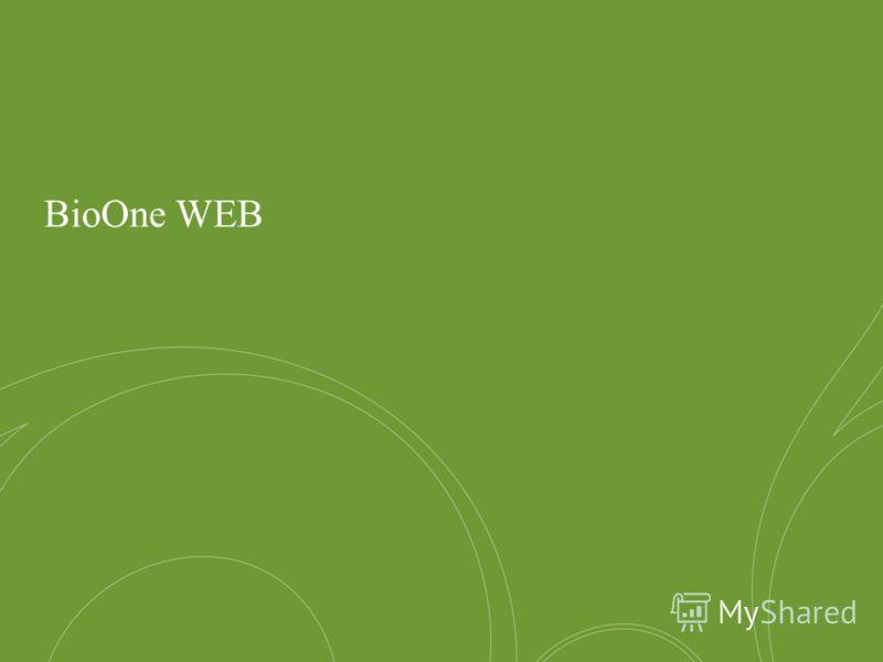 13 >, DC > 00, 20XX BioOne WEB