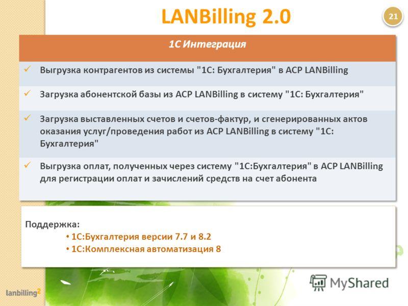 2121 Поддержка: 1С:Бухгалтерия версии 7.7 и 8.2 1С:Комплексная автоматизация 8 Поддержка: 1С:Бухгалтерия версии 7.7 и 8.2 1С:Комплексная автоматизация 8