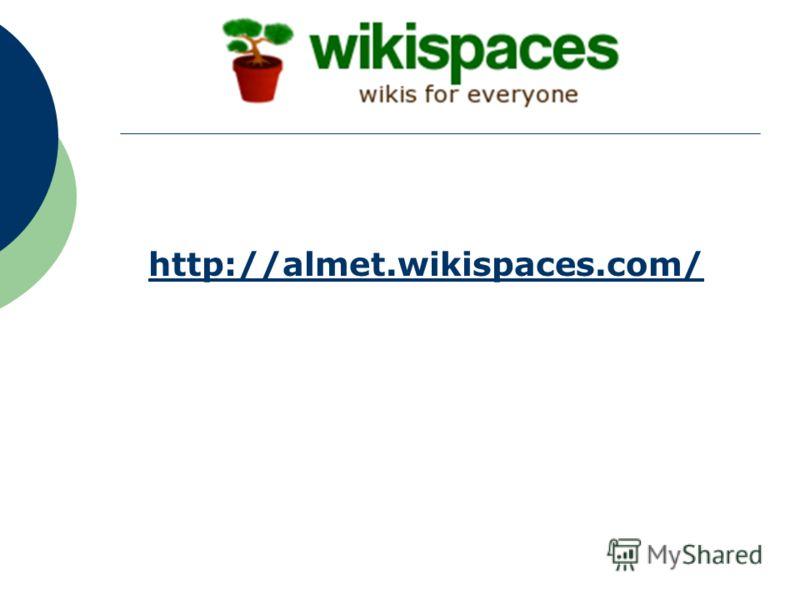http://almet.wikispaces.comhttp://almet.wikispaces.com/