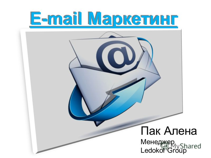Пак Алена Менеджер Ledokol Group E-mail Маркетинг