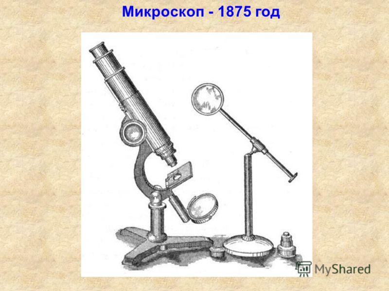 Микроскоп - 1875 год