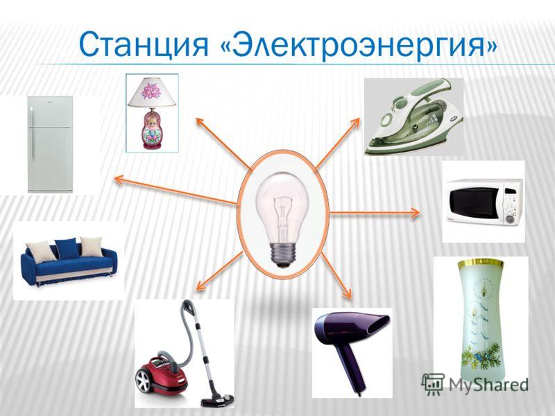 Станция «Электроэнергия»