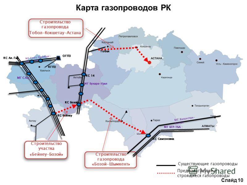 Строительство газопровода «