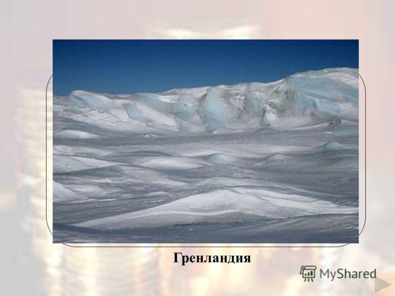 Название этого острова переводится как « зелёный остров », но растения на нём практически не растут Гренландия