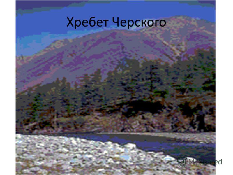 Хребет Черского