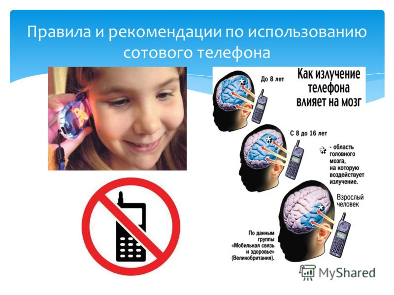 Правила и рекомендации по использованию сотового телефона