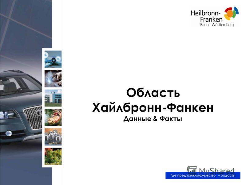 Область Хайлбронн-Фанкен Данные & Факты Где предпринималельство – радость!