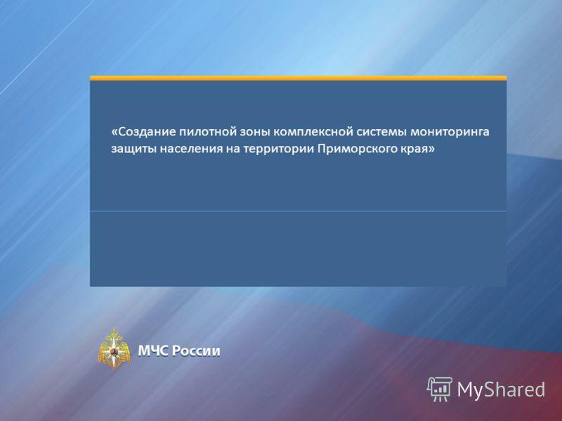 «Создание пилотной зоны комплексной системы мониторинга защиты населения на территории Приморского края»