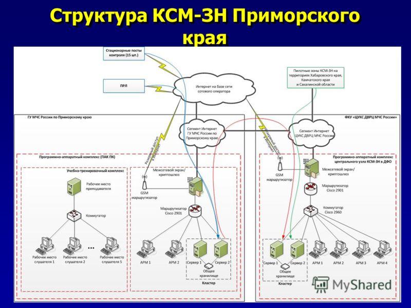 Структура КСМ-ЗН Приморского края