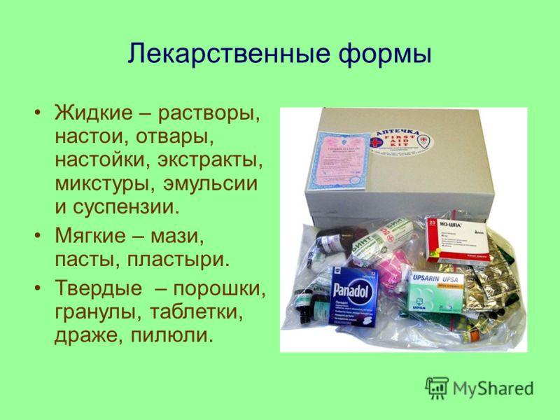 Введение Цель исследования: обосновать необходимость создания аптечки для использования в домашних условиях. Задачи исследования: 1. Изучение классификации и форм лекарственных средств 2. Опытно-экспериментальная работа по составлению аптечки для исп