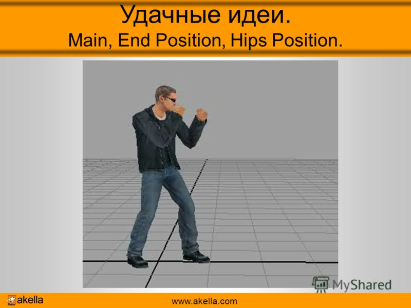 www.akella.com Удачные идеи. Main, End Position, Hips Position.