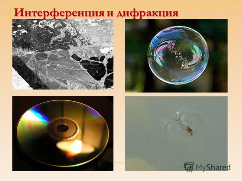 Интерференция и дифракция