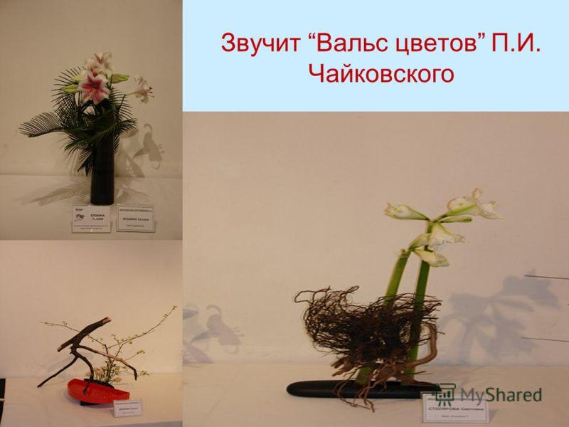 Звучит Вальс цветов П.И. Чайковского