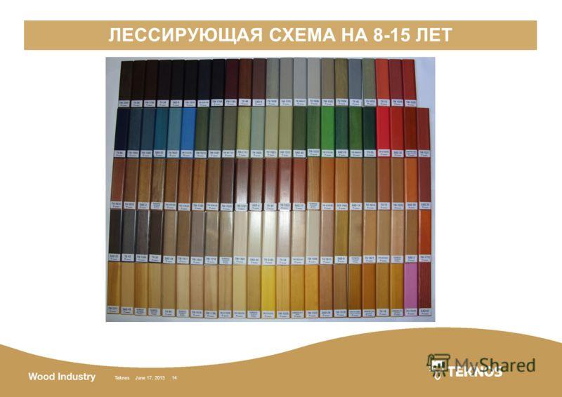 Teknos June 17, 2013 14 ЛЕССИРУЮЩАЯ СХЕМА НА 8-15 ЛЕТ