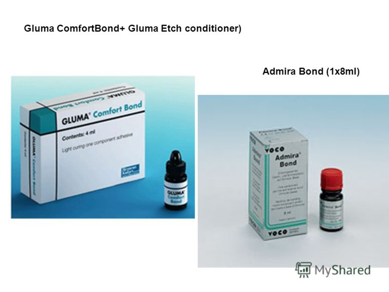Gluma ComfortBond+ Gluma Etch conditioner) Admira Bond (1x8ml)