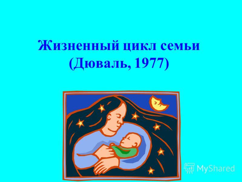 Жизненный цикл семьи (Дюваль, 1977)