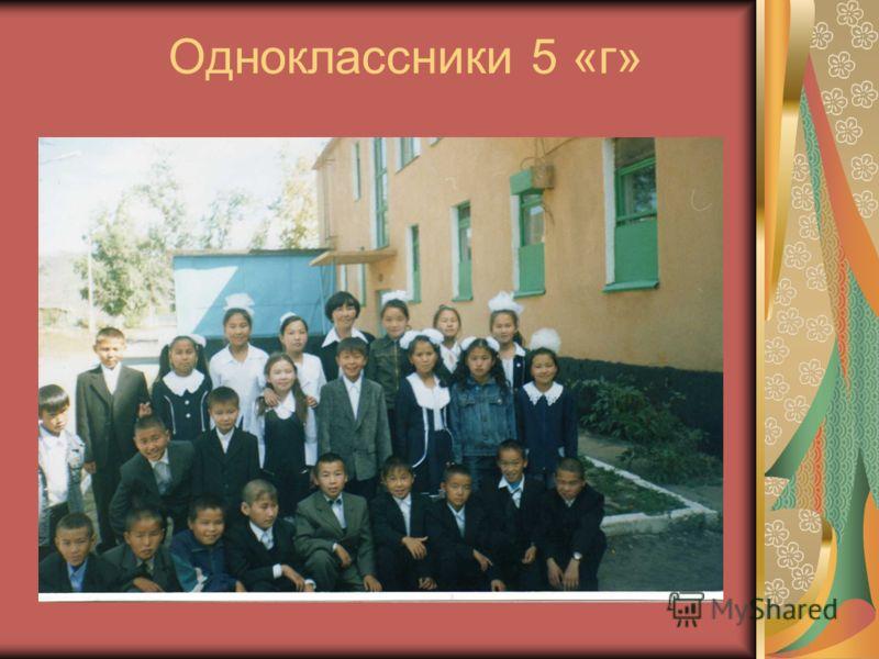 Одноклассники 5 «г»