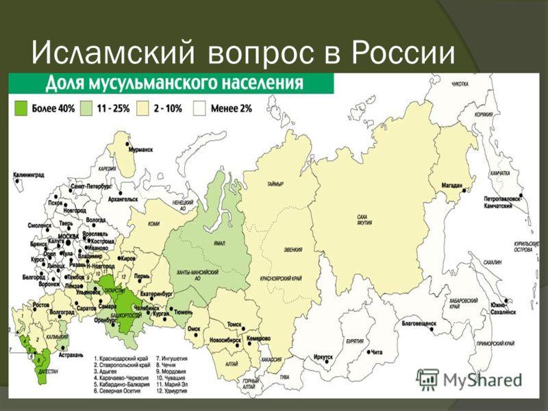 Исламский вопрос в России