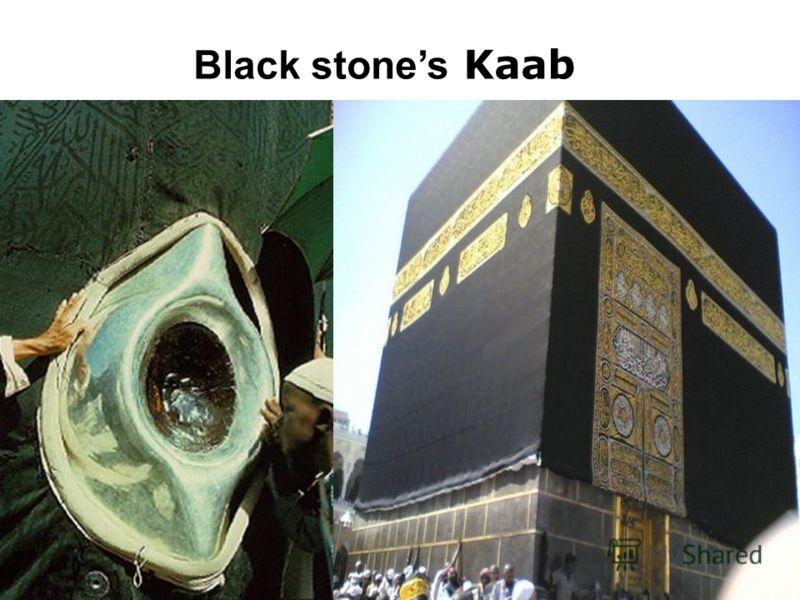 Black stones Kaab