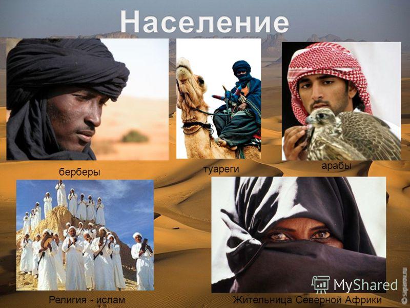 берберы туареги арабы Религия - ислам Жительница Северной Африки