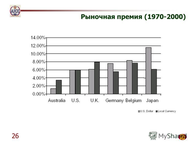 26 Рыночная премия (1970-2000)