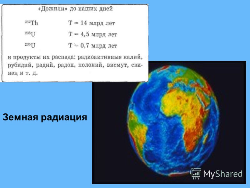 12 Земная радиация