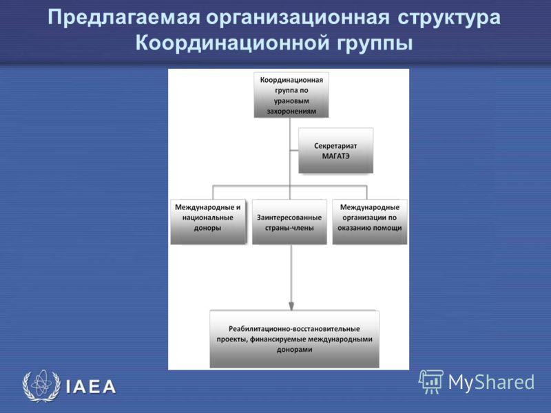 МАГ АТЭ Предлагаемая организационная структура Координационной группы
