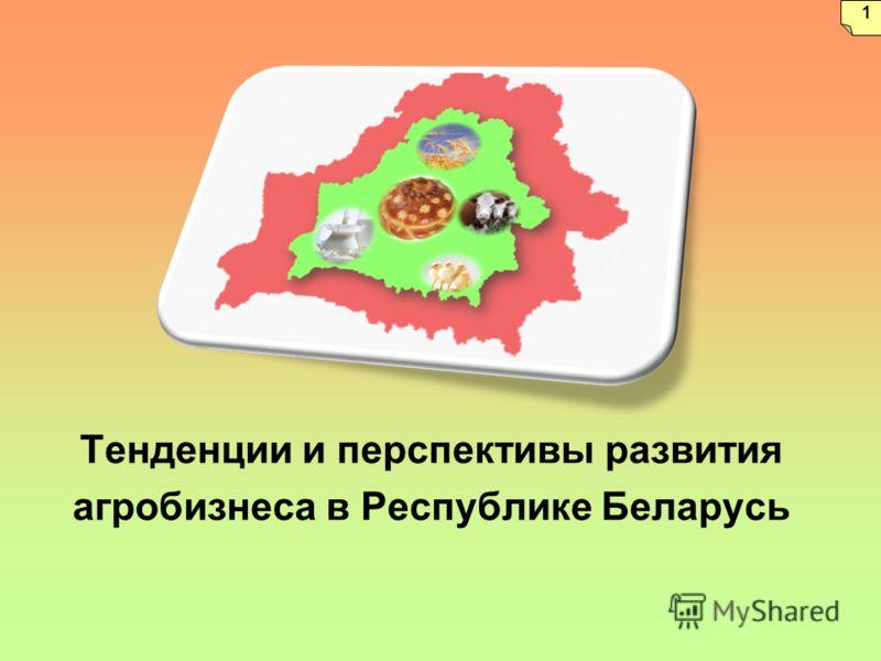 Тенденции и перспективы развития агробизнеса в Республике Беларусь 1
