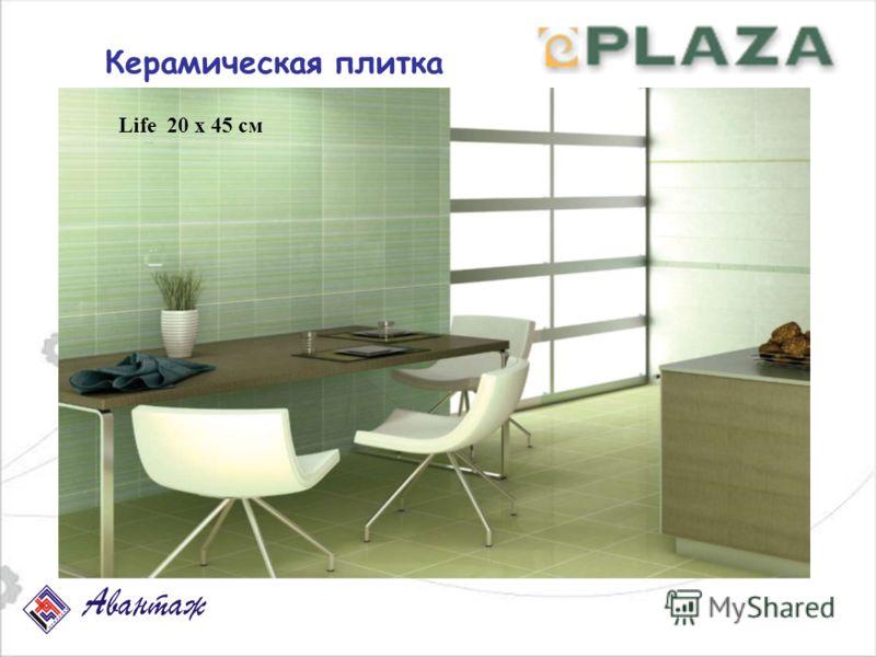 Керамическая плитка Life 20 х 45 см