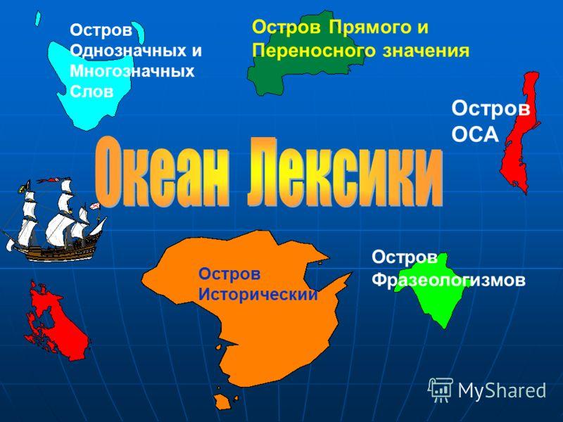 Название океана Л Е И С КА К