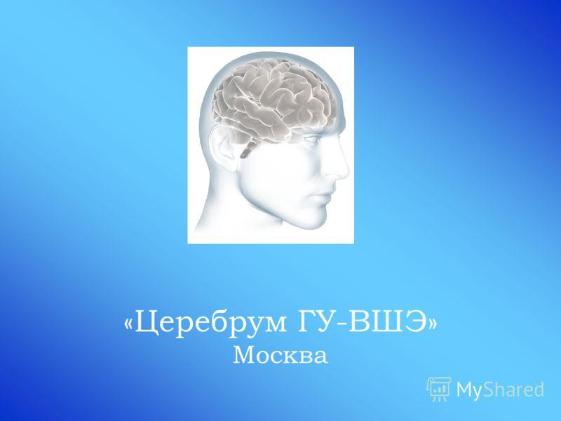 «Церебрум ГУ-ВШЭ» Москва