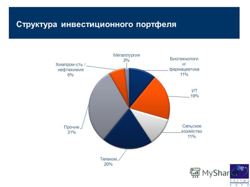 Структура инвестиционного портфеля